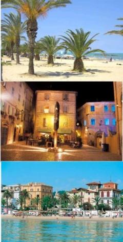 Sandstrand Adria, Tourismus Marken