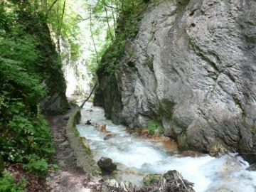 Infernaccio-Schlucht, Marche Italia