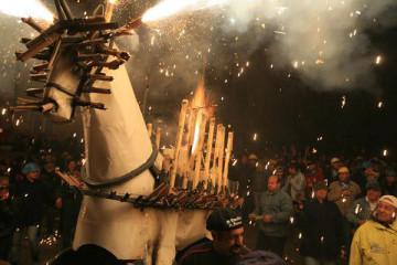 Cavallo del fuoco - Ripatransone, italienische Marken